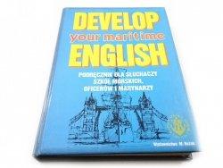 DEVELOP YOUR MARITIME ENGLISH. PODRĘCZNIK - Juwa