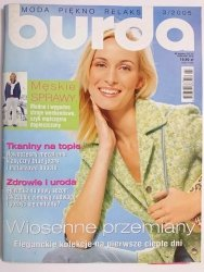 BURDA NR 3/2005 WIOSENNE PRZEMIANY