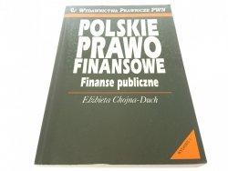 POLSKIE PRAWO FINANSOWE. FINANSE PUBLICZNE 2001