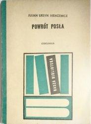 POWRÓT POSŁA - Julian Ursyn Niemcewicz 1973