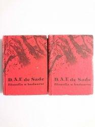 FILOZOFIA W BUDUARZE TOM I i II - D. A. F. De Sade 1989