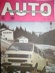 AUTO TECHNIKA MOTORYZACYJNA LUTY 1986