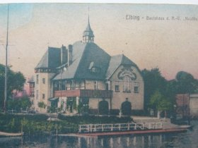 REPRINT. ELBING - BOOTSHAUS d. R.-V. NAUTILUS