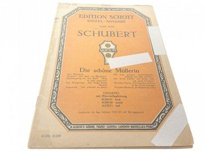 SCHUBERT DIE SCHÓNE MULLERIN 1917