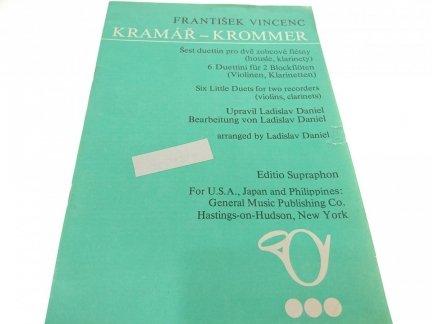 KRAMAR-KROMMER. FRANTISEK VINCENC