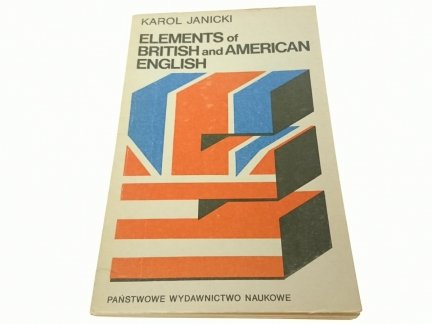 ELEMENTS OF BRITISH AND... - Karol Janicki