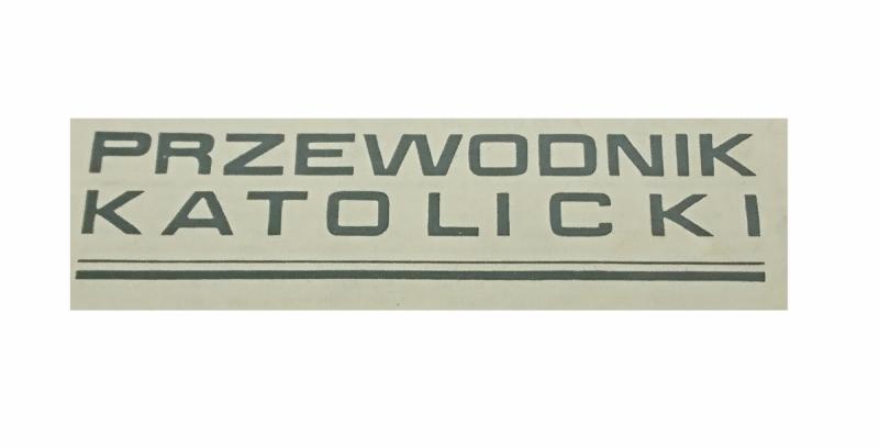 PRZEWODNIK KATOLICKI 1927 ROK OPRAWIONY UNIKAT