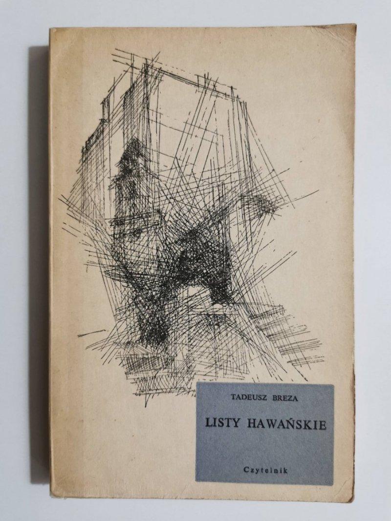 LISTY HAWAŃSKIE - Tadeusz Breza 1961