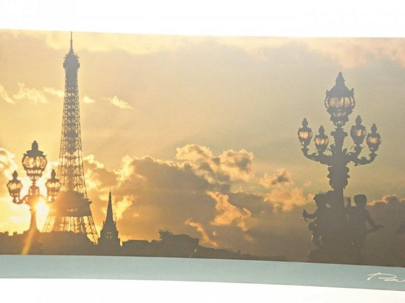 PARIS. LA TOUR EIFFEL VUE DEPUIS LE PONT ALEXANDRE