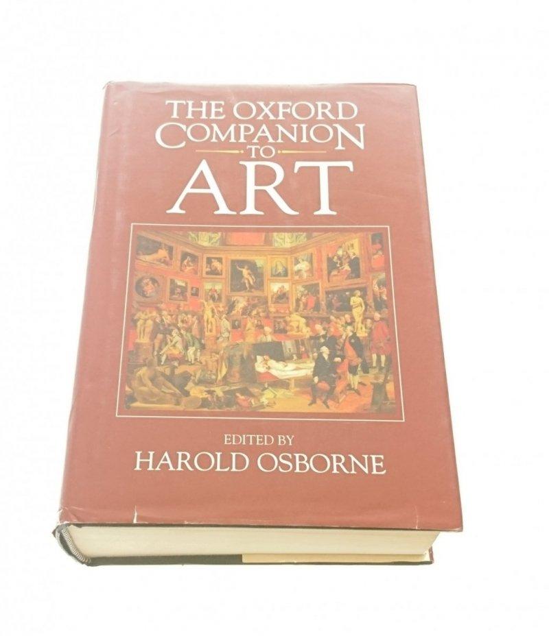 THE OXFORD COMPANION TO ART - Harold Osborne 1995
