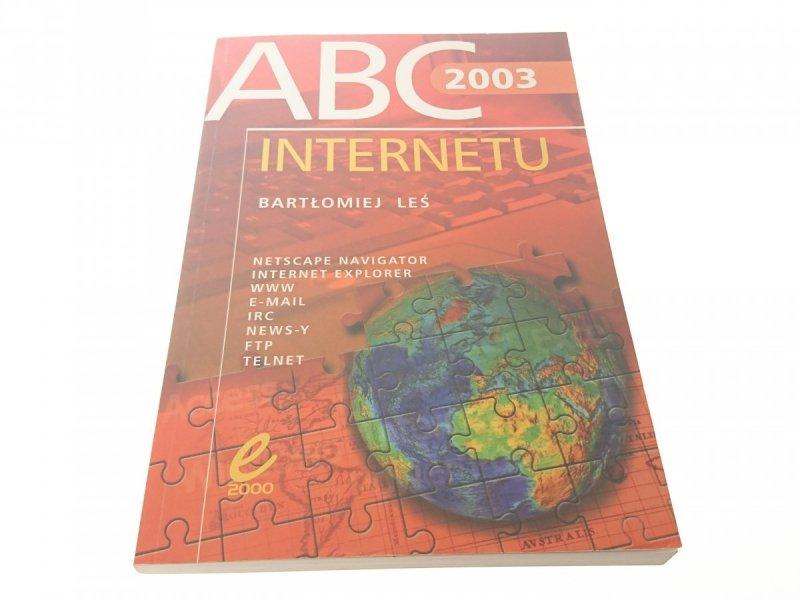 ABC INTERNETU 2003 - Bartłomiej Leś