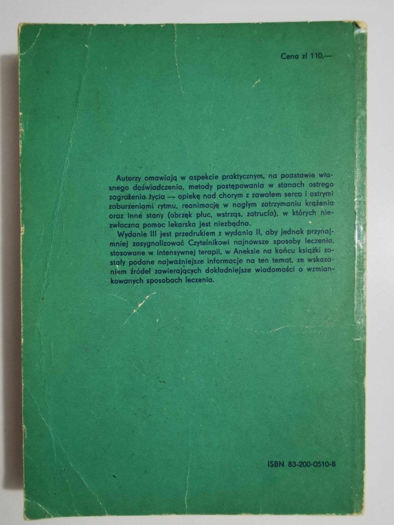 INTENSYWNA TERAPIA INTERNISTYCZNA - red. Aleksandrow 1981