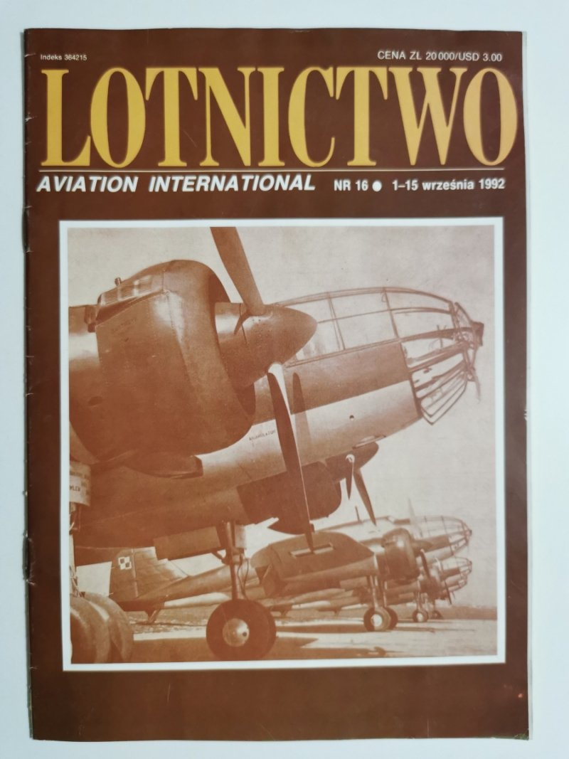 LOTNICTWO NR 16 1992