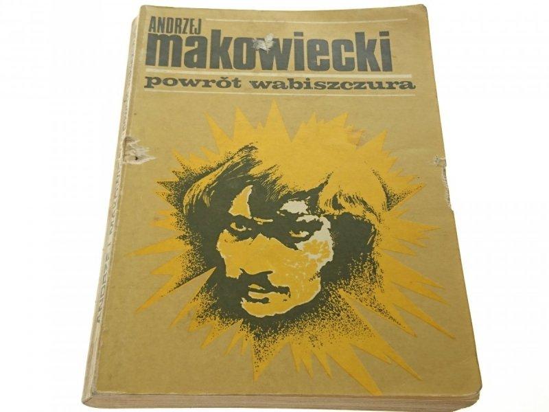 POWRÓT WABISZCZURA - Andrzej Makowiecki 1977