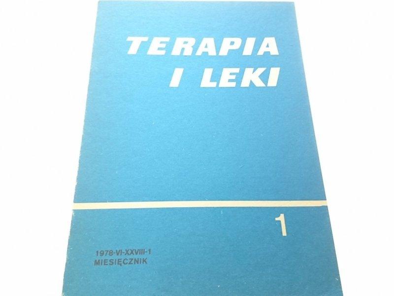 TERAPIA I LEKI . MIESIĘCZNIK 1978-VI-XXVIII-1