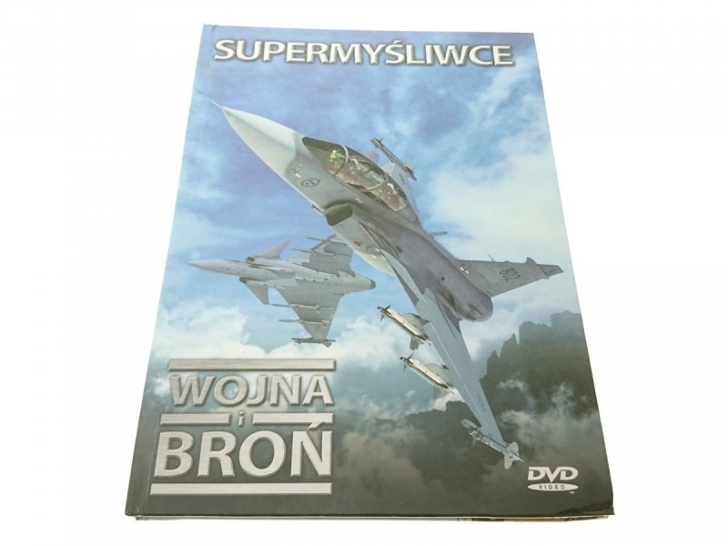 SUPERMYŚLIWCE WOJNA I BROŃ + DVD