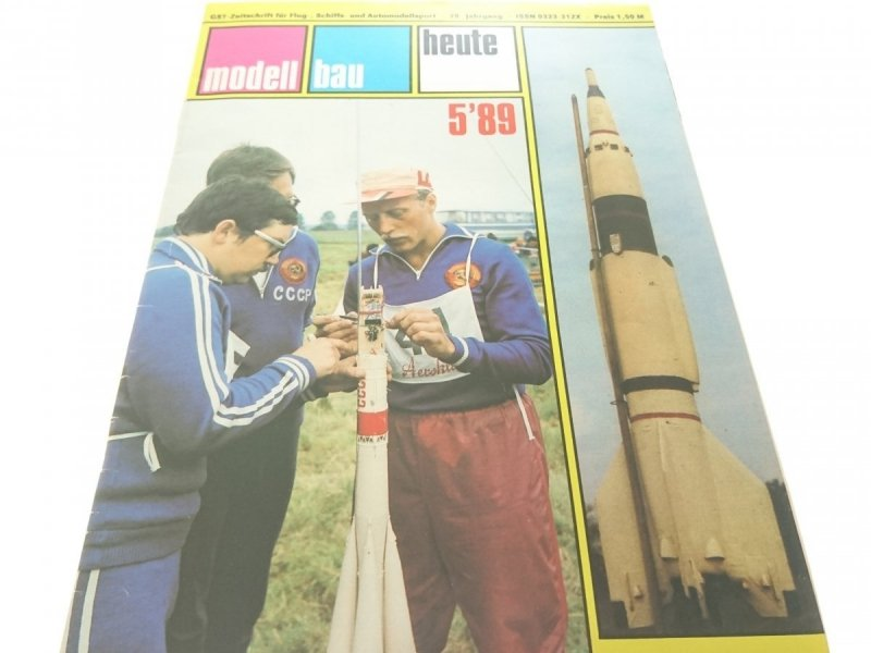MODELL BAU HEUTE 5'89