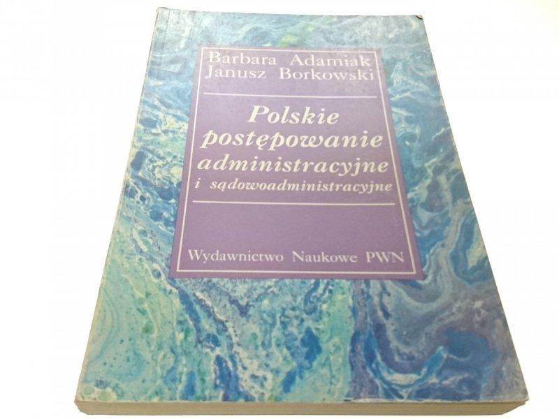 POLSKIE POSTĘPOWANIE ADMINISTRACYJNE- ADAMIAK