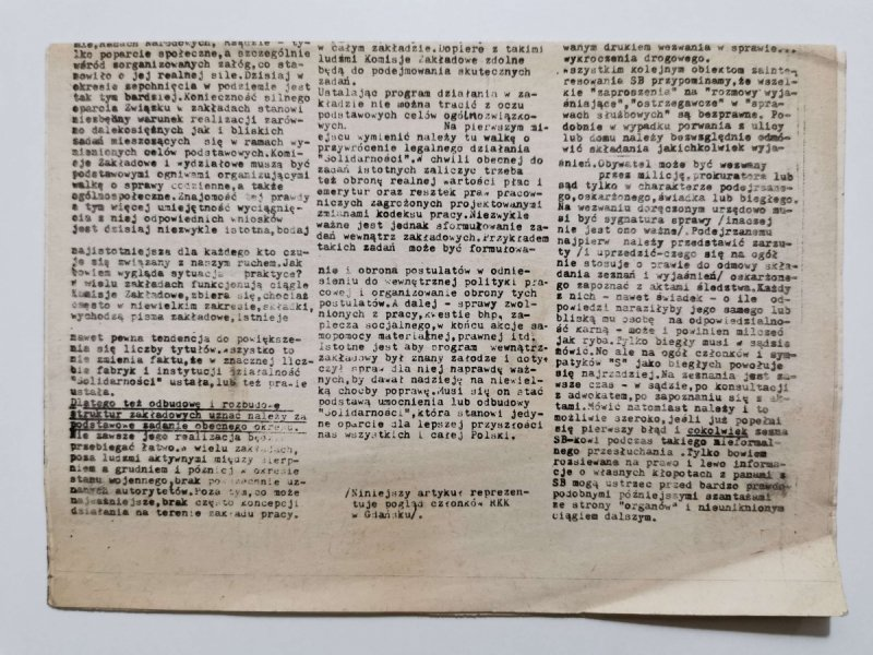 SOLIDARNOŚĆ NR 3 (155) 27 LUTY 1986
