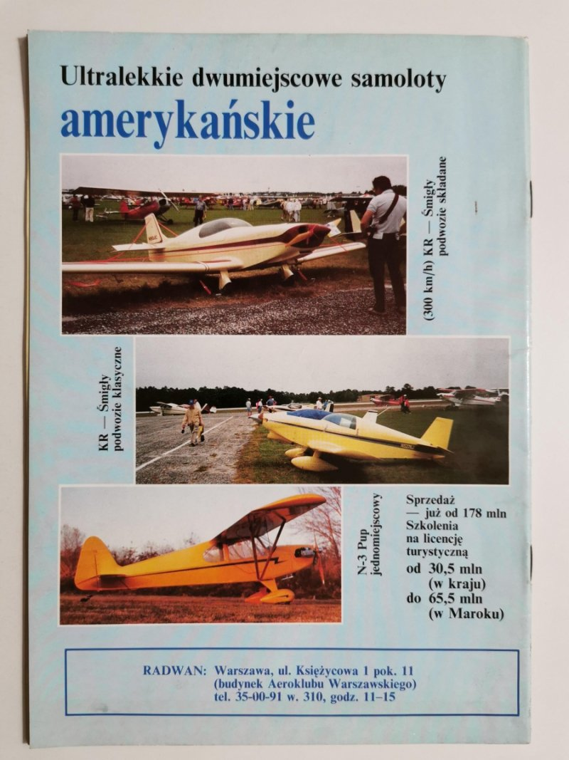 LOTNICTWO NR 1 1993