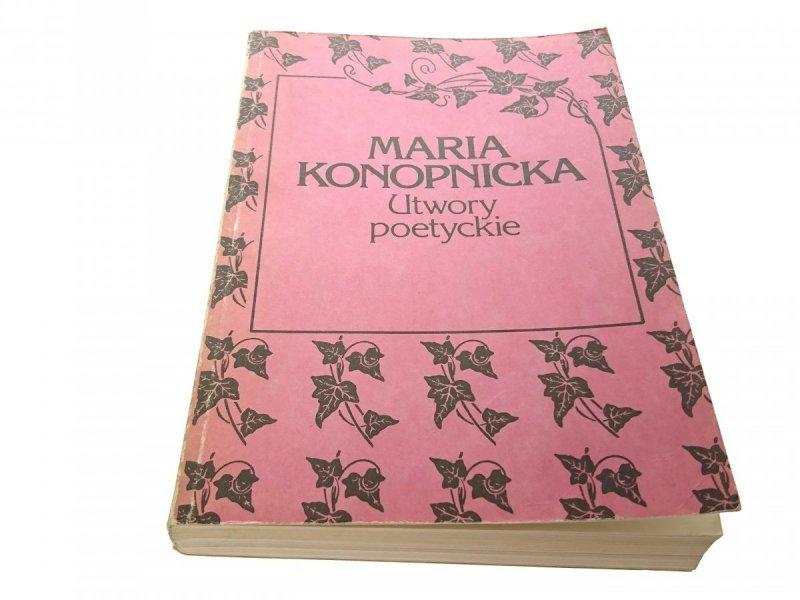 UTWORY POETYCKIE - Maria Konopnicka 1988