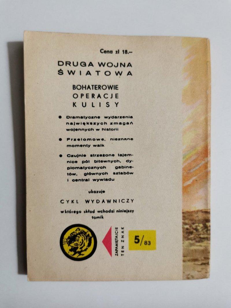 ŻÓŁTY TYGRYS: BRANDENBURSKI WĘZEŁ - Adam Głowacki 1983