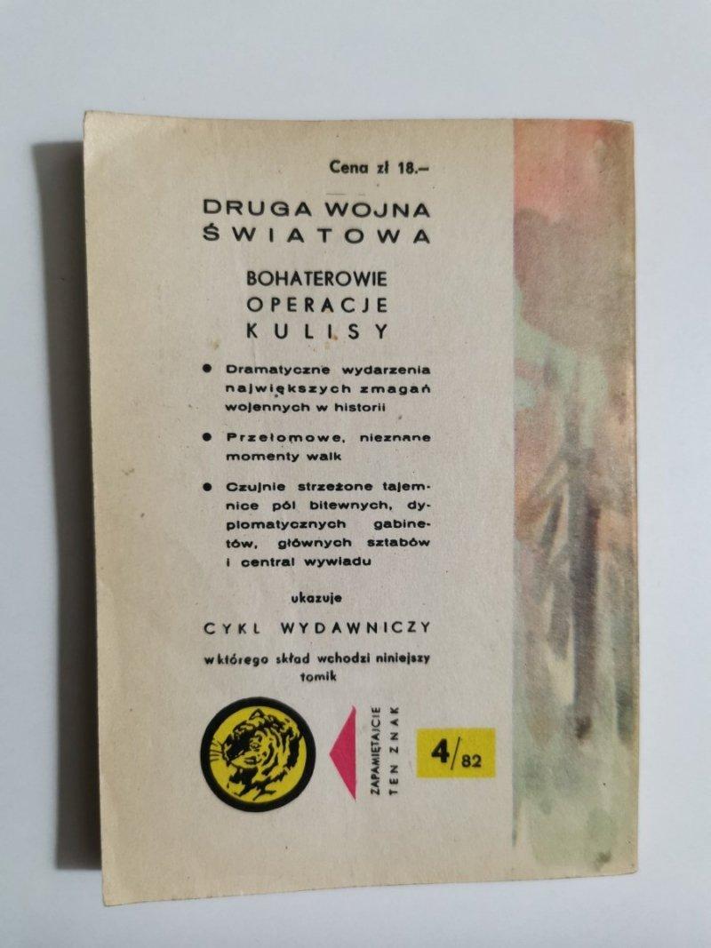 ŻÓŁTY TYGRYS: GORĄCY LAS - Zenon Szymanowski 1982