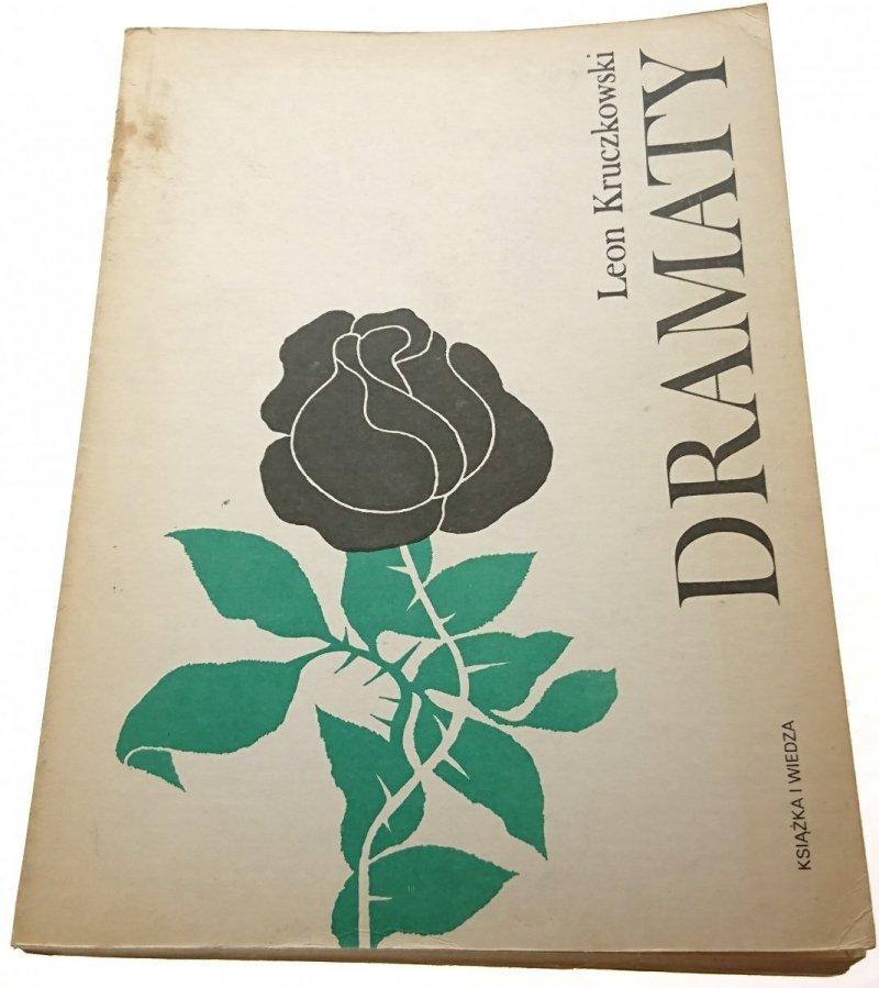 DRAMATY - Leon Kruczkowski