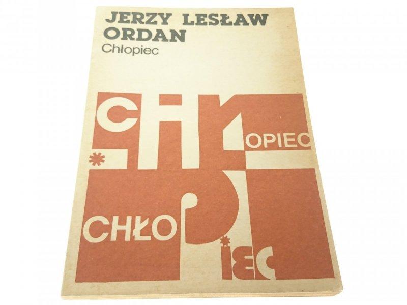 CHŁOPIEC - Jerzy Lesław Ordan (1984)