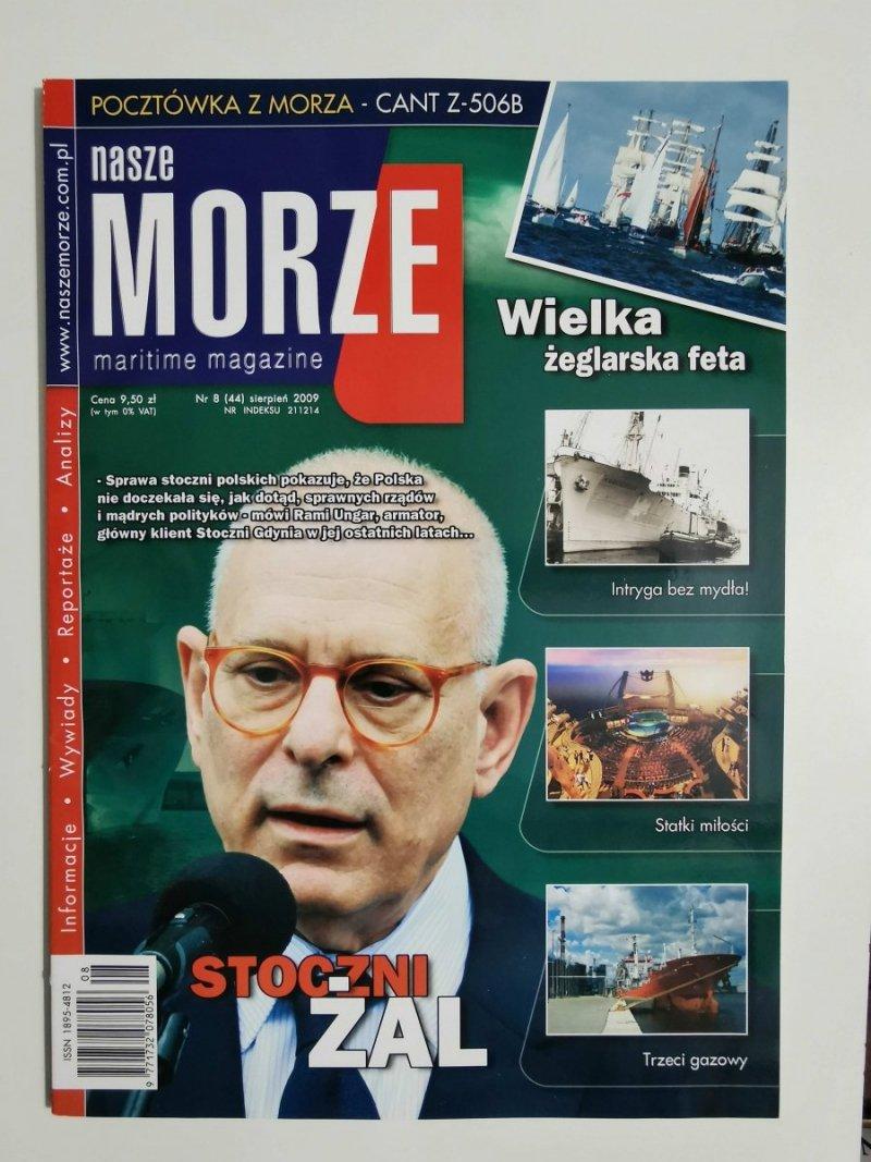NASZE MORZE NR 8 (44) SIERPIEŃ 2009