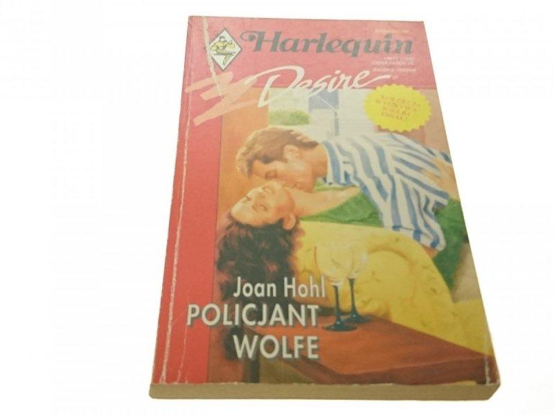 POLICJANT WOLFE - Joan Hohl (1994)