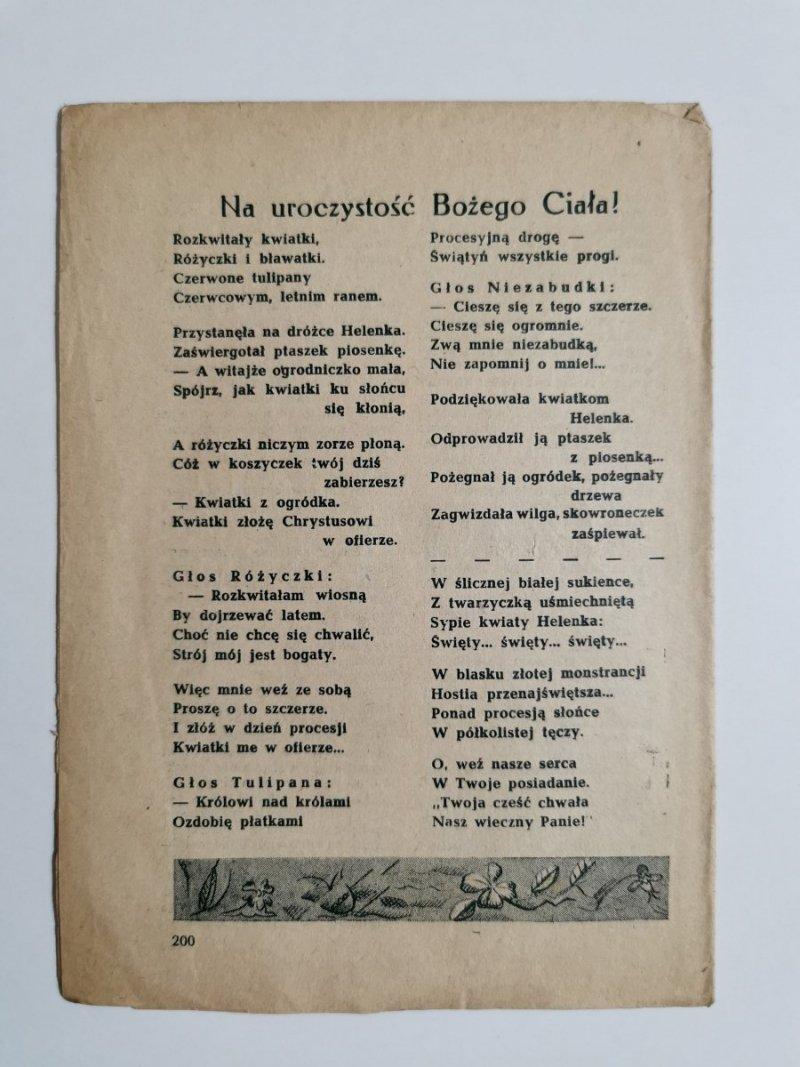 MŁODY GŁOS DODATEK DO GŁOSU KATOLICKIEGO ROK IV POZNAŃ DNIA 8 CZERWCA 1952 NR 23
