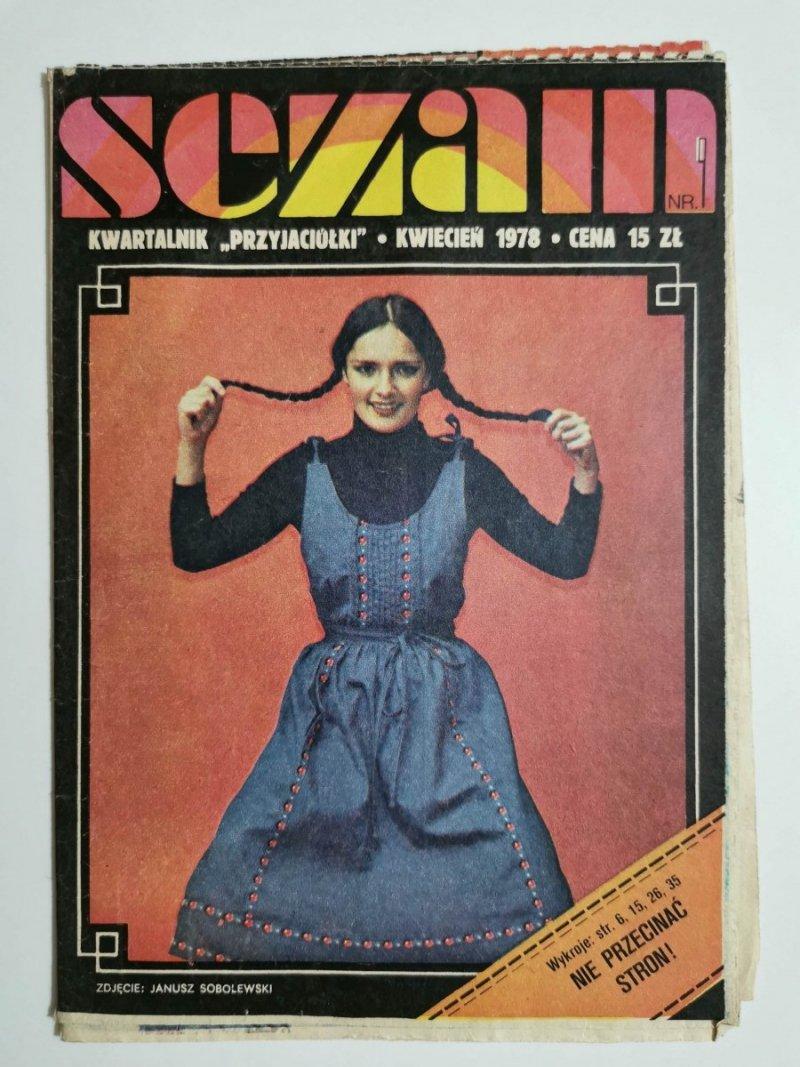 SEZAM NR 9 KWARTALNIK PRZYJACIÓŁKI KWIECIEŃ 1978