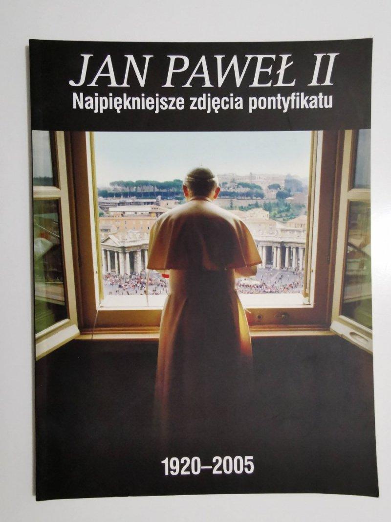JAN PAWEŁ II NAJPIĘKNIEJSZE ZDJĘCIA PONTYFIKATU