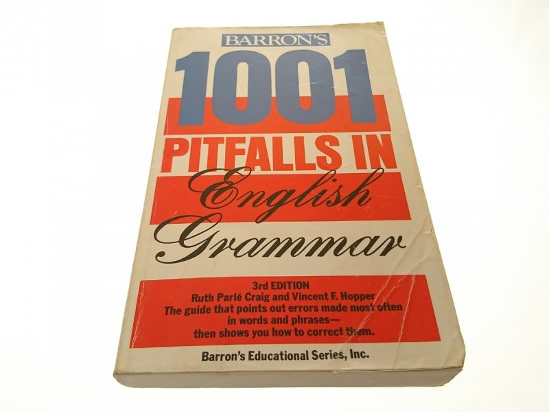 1001 PITFALLS IN ENGLISH GRAMMAR 1986