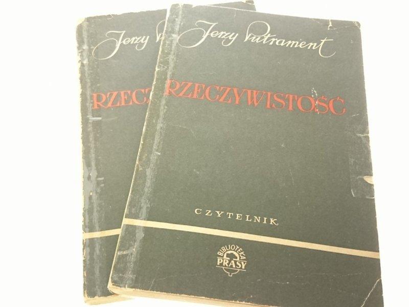 RZECZYWISTOŚĆ TOM I i II - Jerzy Putrament