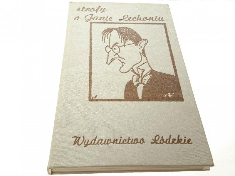 STROFY O JANIE LECHONIU - Stanisław Kaszyński 1985