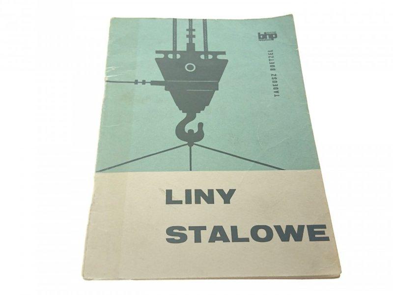 LINY STALOWE - Tadeusz Boetzel 1968