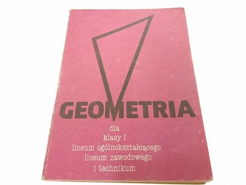 GEOMETRIA DLA KLASY I LO LICEUM  i TECHNIKUM