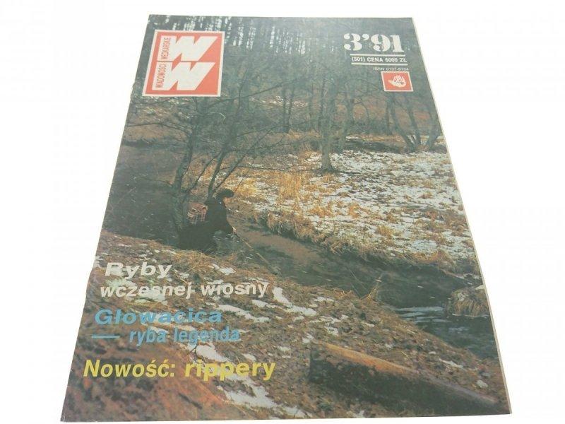 WIADOMOŚCI WĘDKARSKIE NR 3'91 (501)