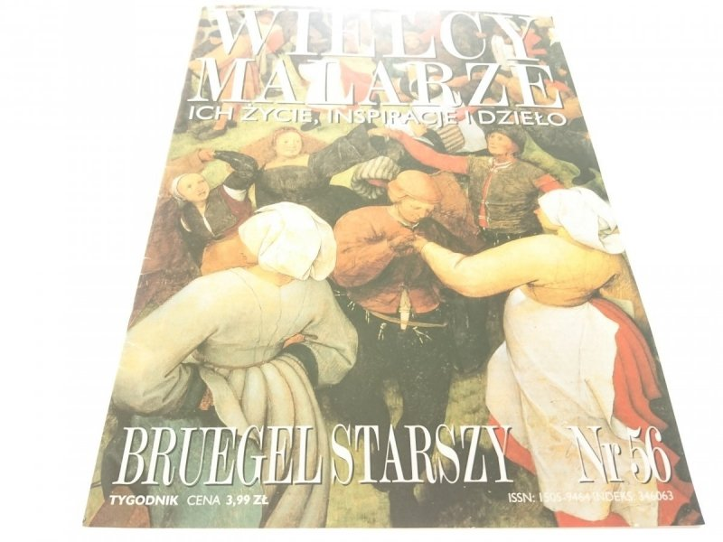 WIELCY MALARZE NR 56 BRUEGEL STARSZY 1999