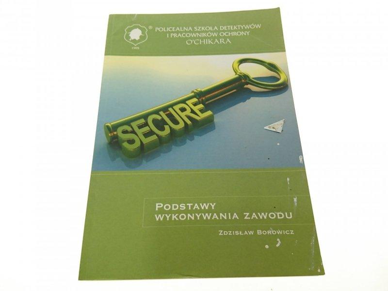 PODSTAWY WYKONYWANIA ZAWODU - Zdzisław Borowicz