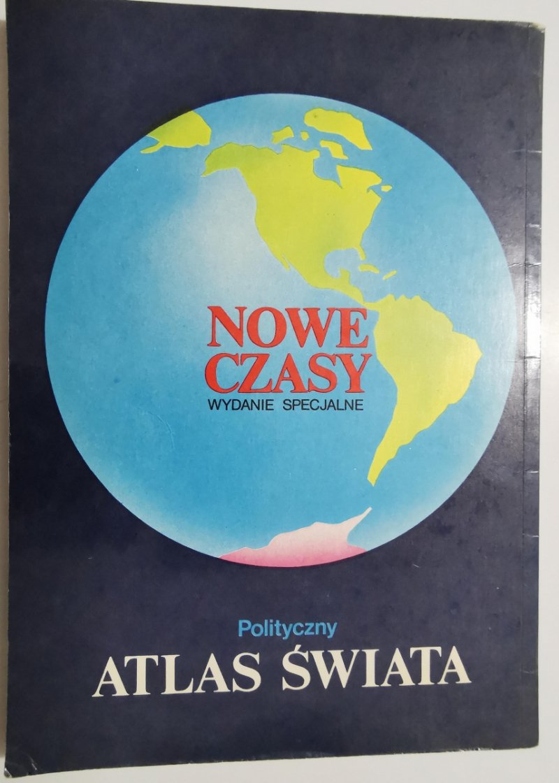 POLITYCZNY ATLAS ŚWIATA 1990