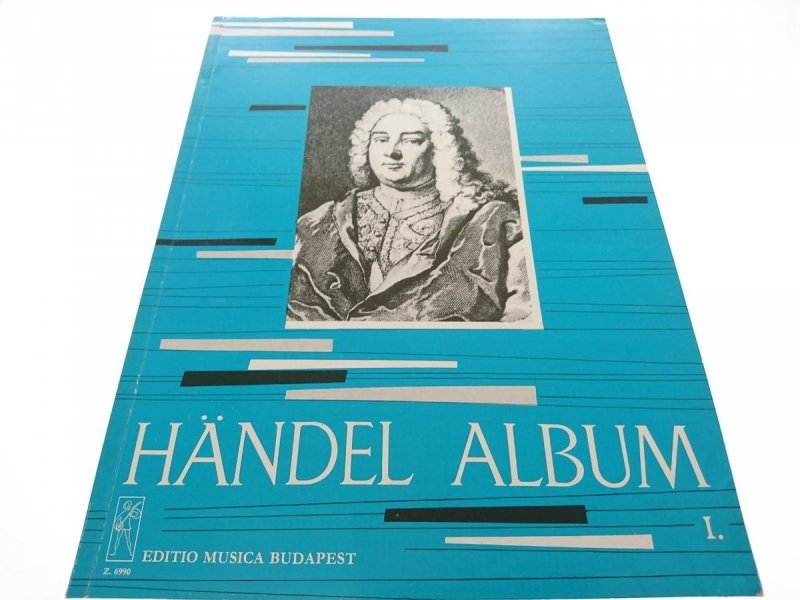 HANDEL ALBUM I ZONGORARA - FUR KLAVIER