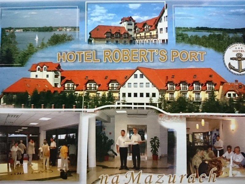 HOTEL ROBERT'S PORT NA MAZURACH. SIEDEM UJĘĆ