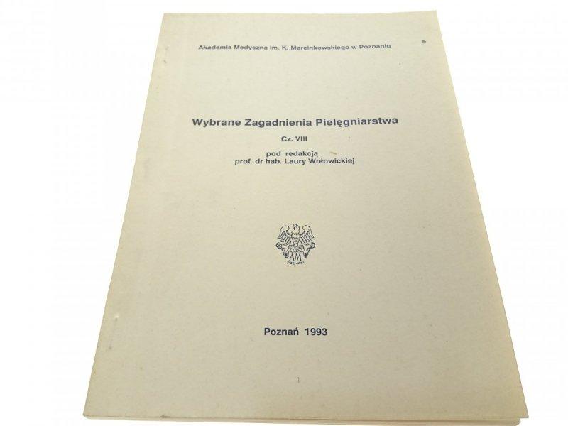 WYBRANE ZAGADNIENIA PIELĘGNIARSTWA CZ. VIII