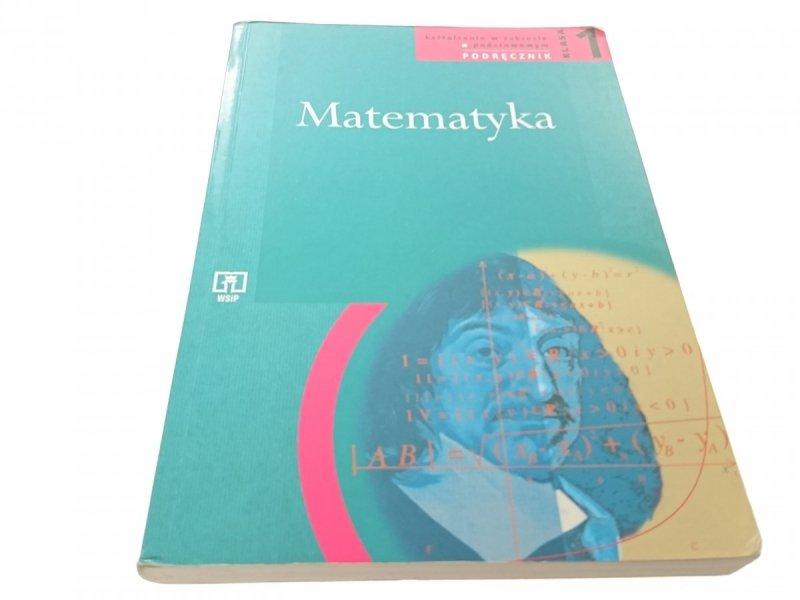 MATEMATYKA PODRĘCNZIK KLASA 1. LO, LP, TECHN