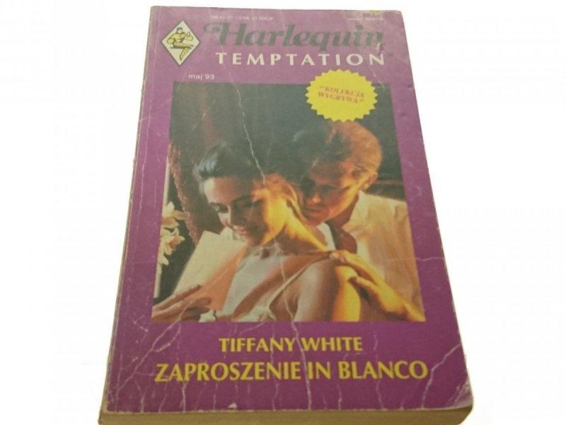 ZAPROSZENIE IN BLANCO - Tiffany White