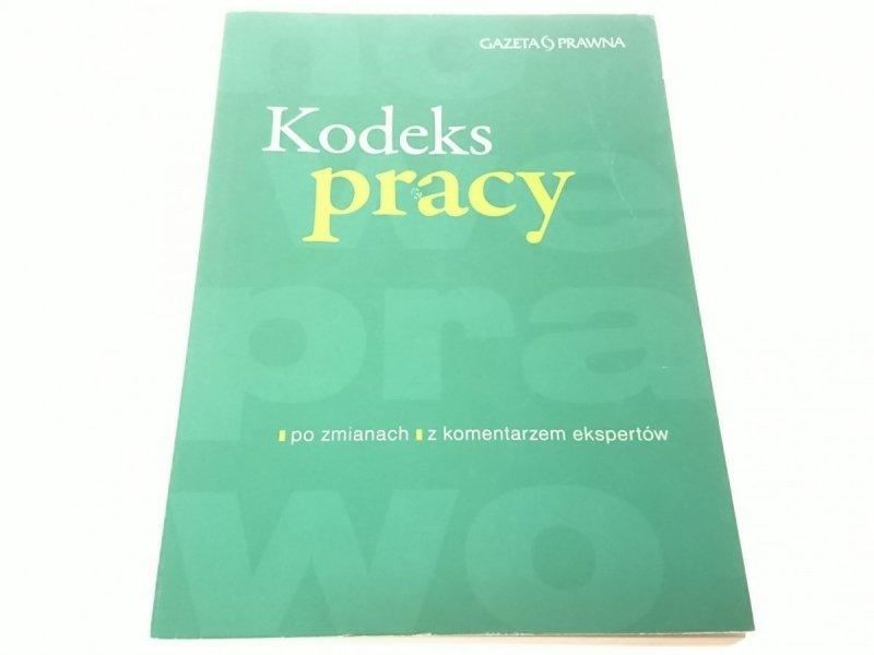 KODEKS PRACY 2008