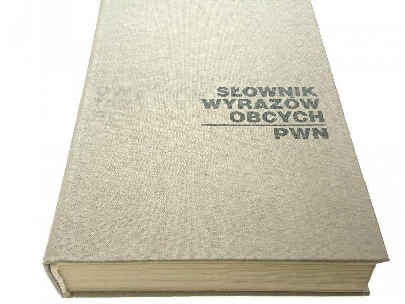 SŁOWNIK WYRAZÓW OBCYCH PWN (1989)